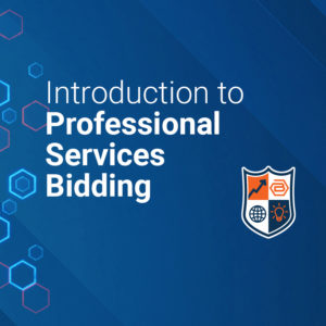 online training for professional services bidding